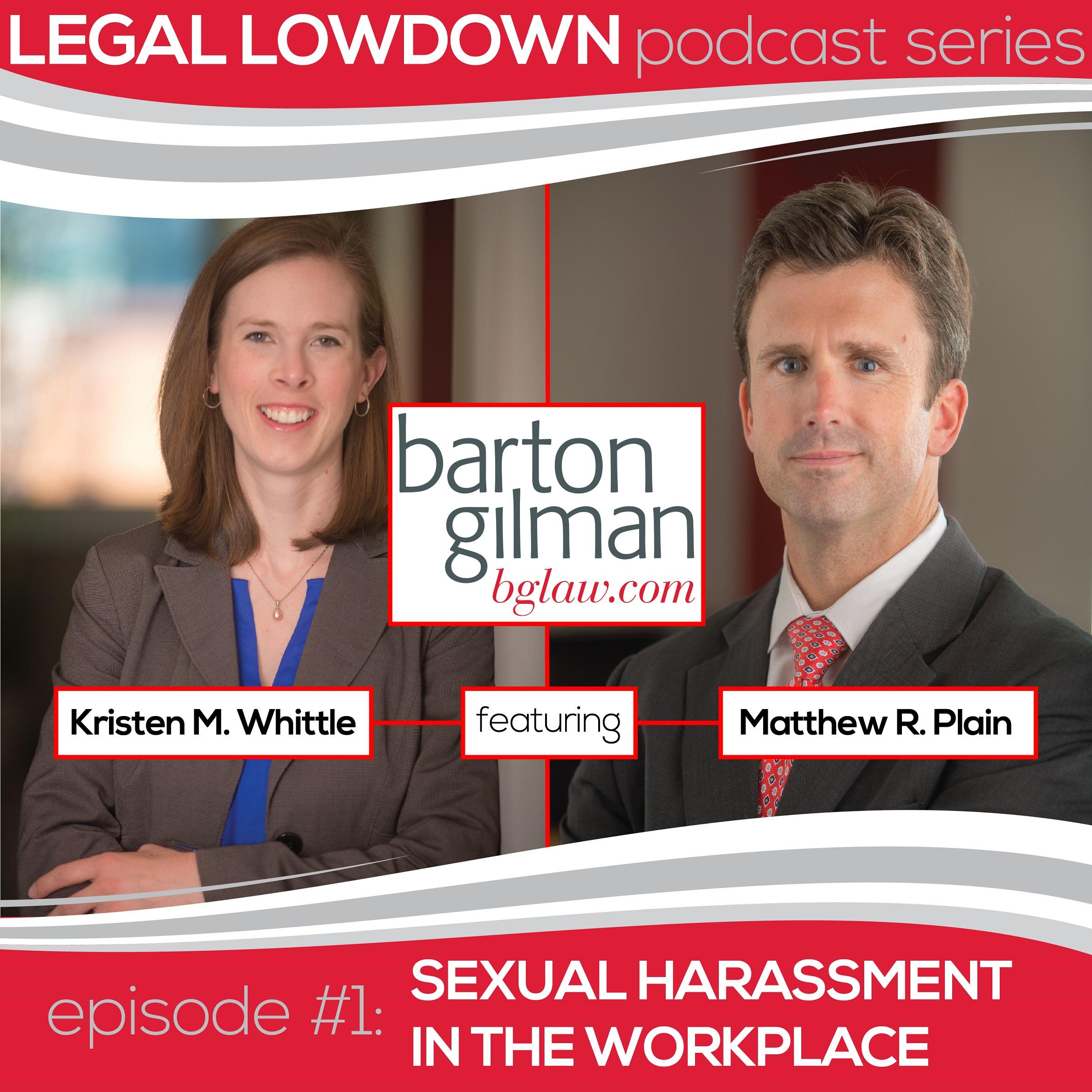 Legal lowdown podcast