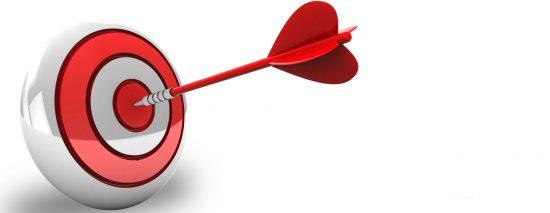 dart making bullseye icon englarged