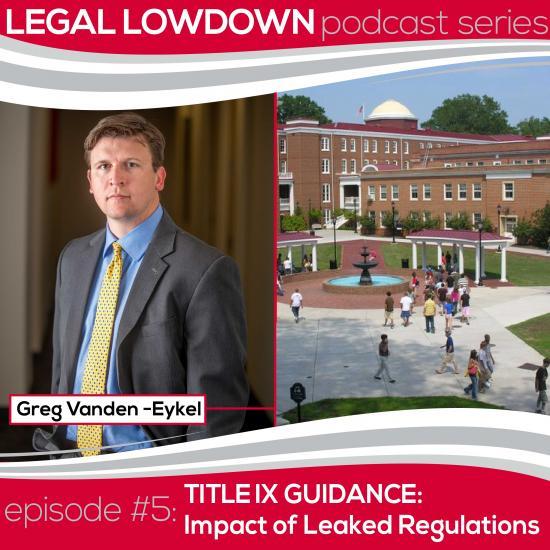 Leaked Regulations