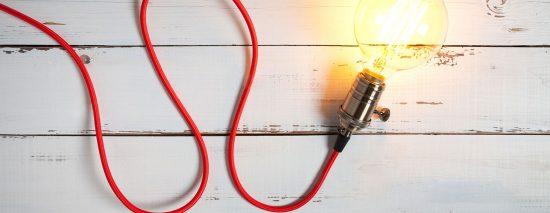 Website Banner image of lightbulb turned on